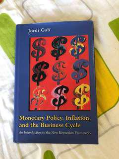 EC4332 Monetary Policy, Inflation, and the Business Cycle by Galí