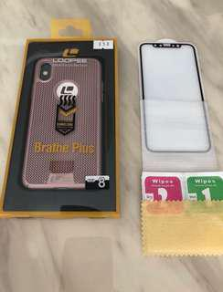 IPhone X Screen Protector and Case