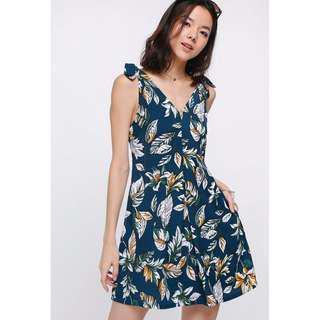 Love Bonito Damase Knotted Dress