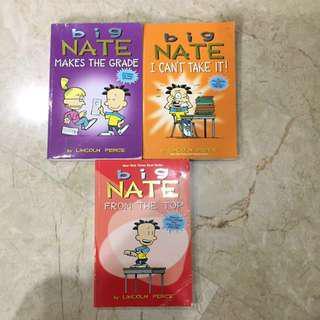 Big Nate Story Books
