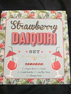 Daiquiri Cocktail flamingo glass party set