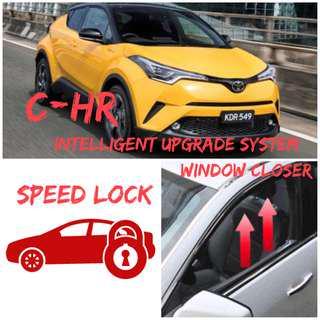 Toyota CHR upgrade system