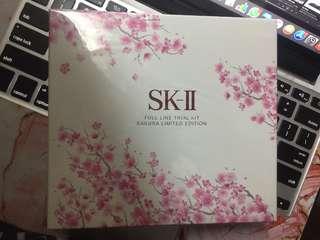 SKII full line trial kit Sakura limited edition 日本限量  神仙水套裝