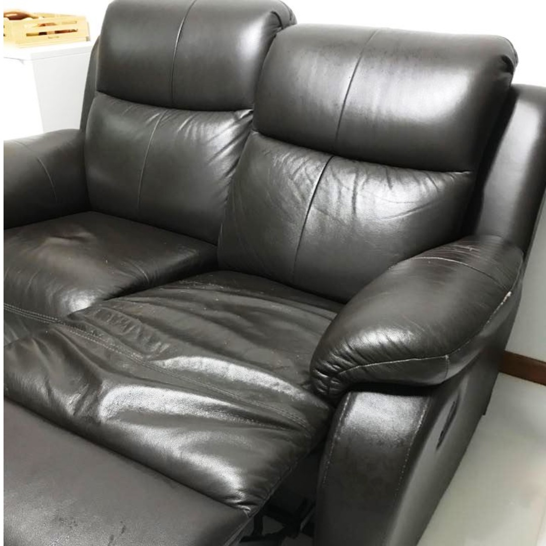 2 Seater Recliner Sofa Furniture Sofas On Carousell