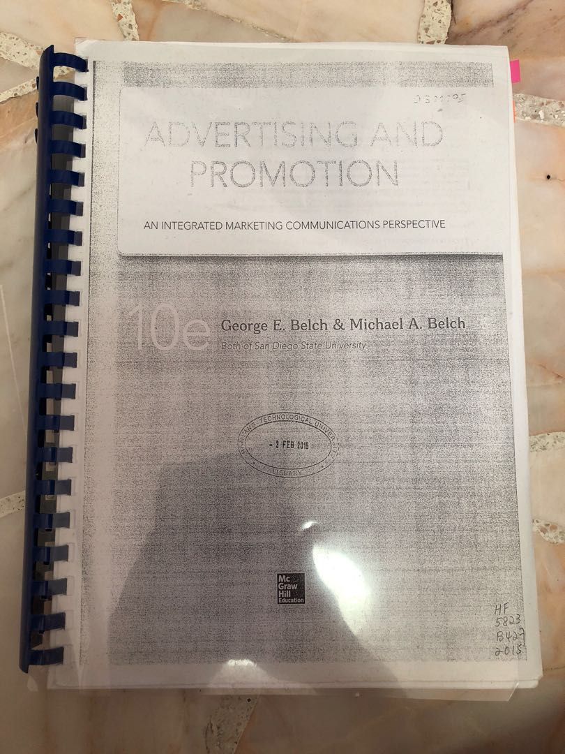 Advertising And Promotion