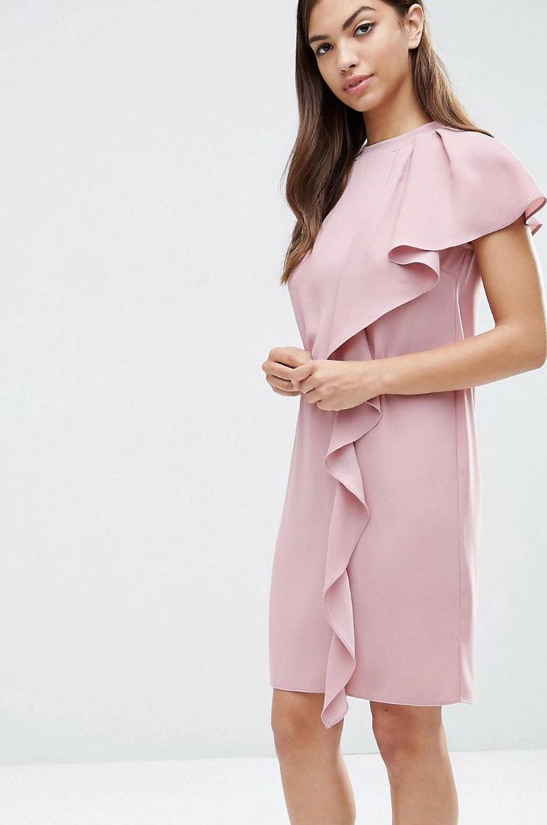 0955c12ae0 Asos dusty pink dress womens fashion clothes dresses skirts on carousell  jpg 773x1165 Asos pink dress