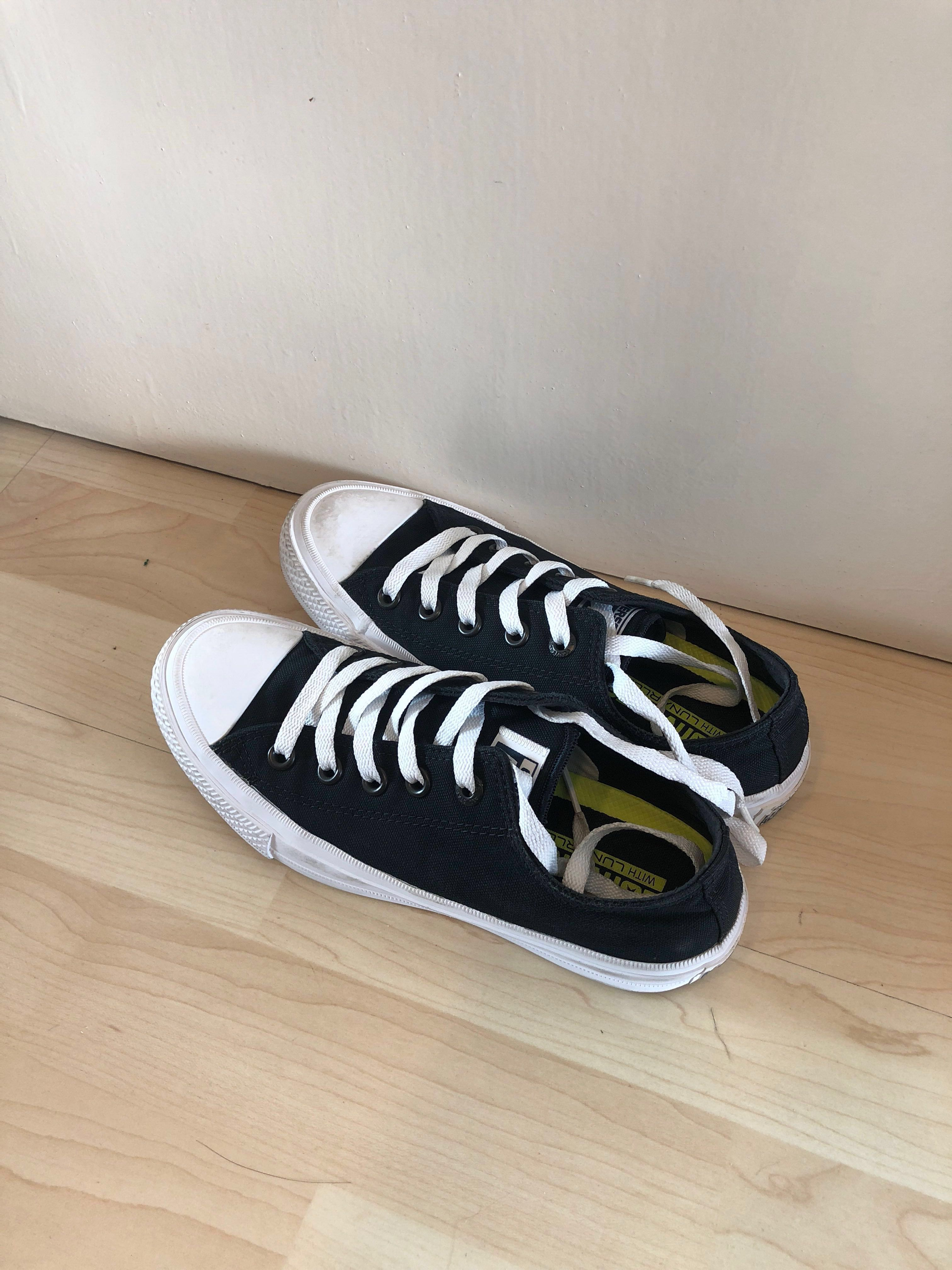 213e155bb9af authentic almost new converse chuck ii sneakers