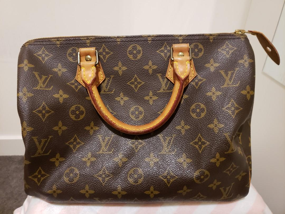 authentic louis vuitton speedy 30