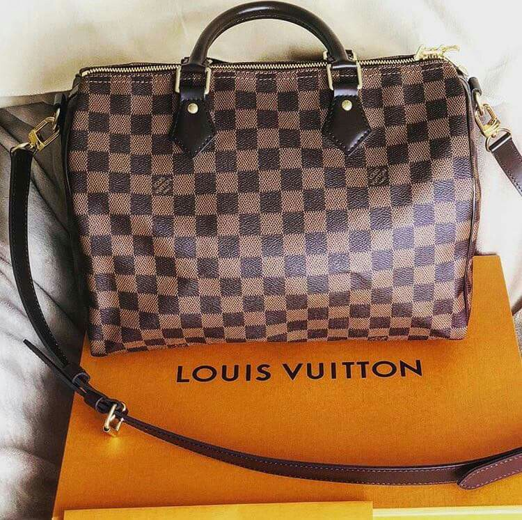 Authentic Louis Vuitton Speedy Bandouliere 30 Damier, Luxury, Bags    Wallets on Carousell 3389e6643c