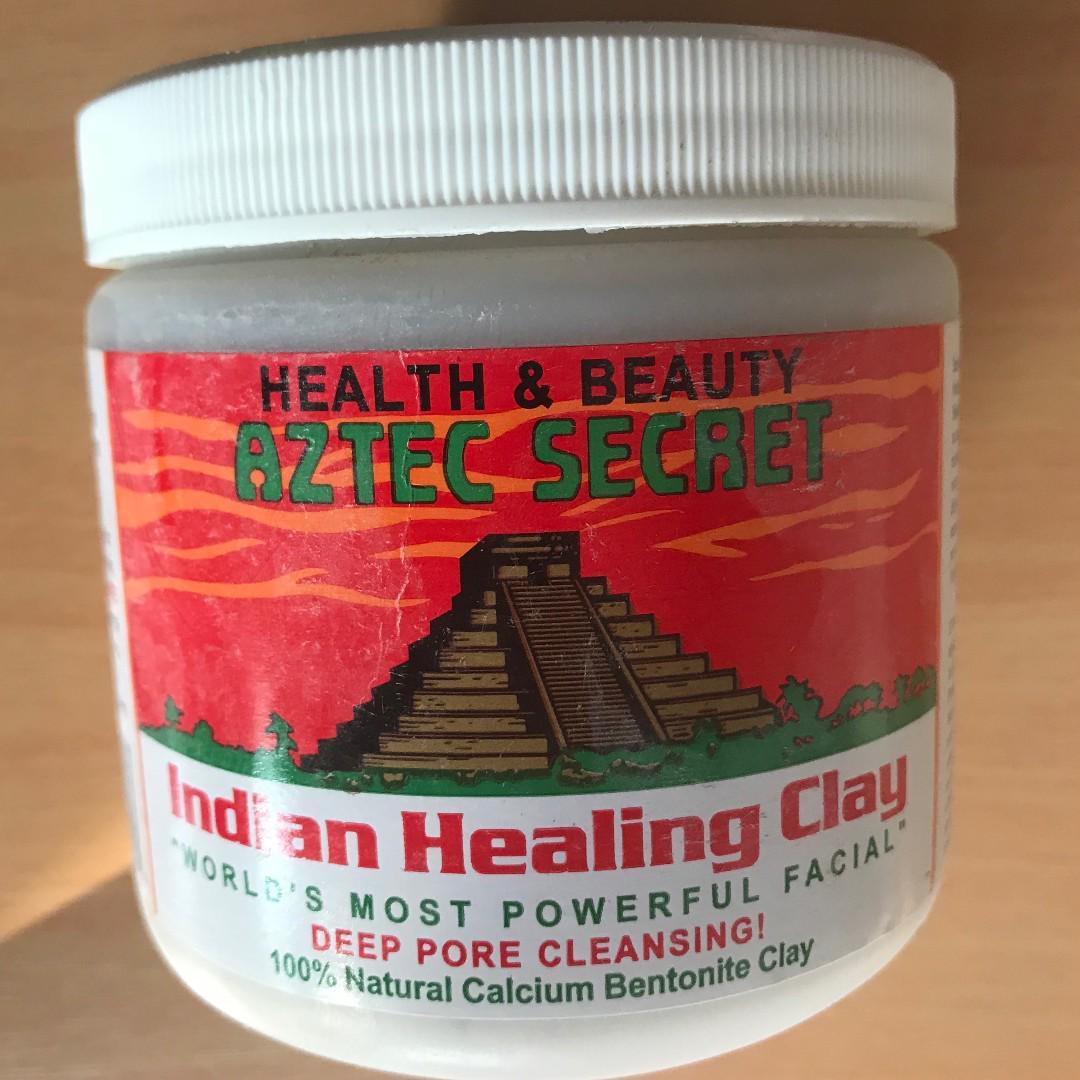 Authentic AZTEC SECRET Indian Healing Clay Mask