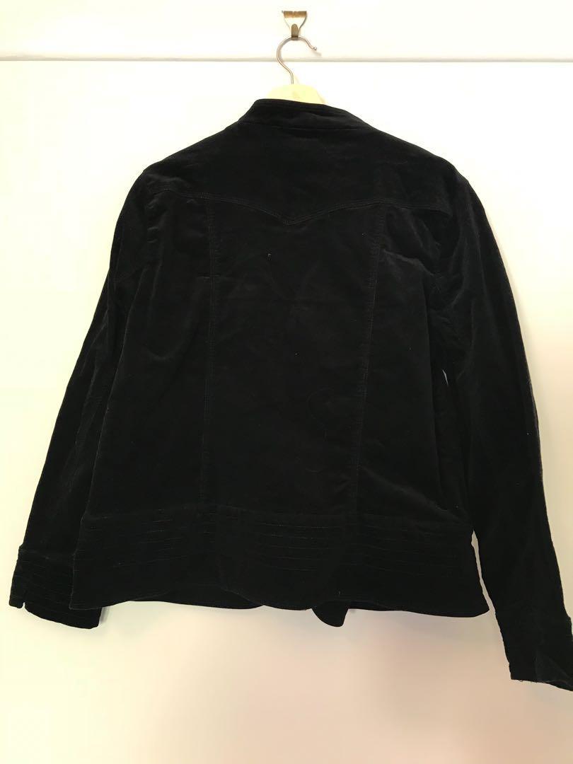 Black Corduroy Jacket