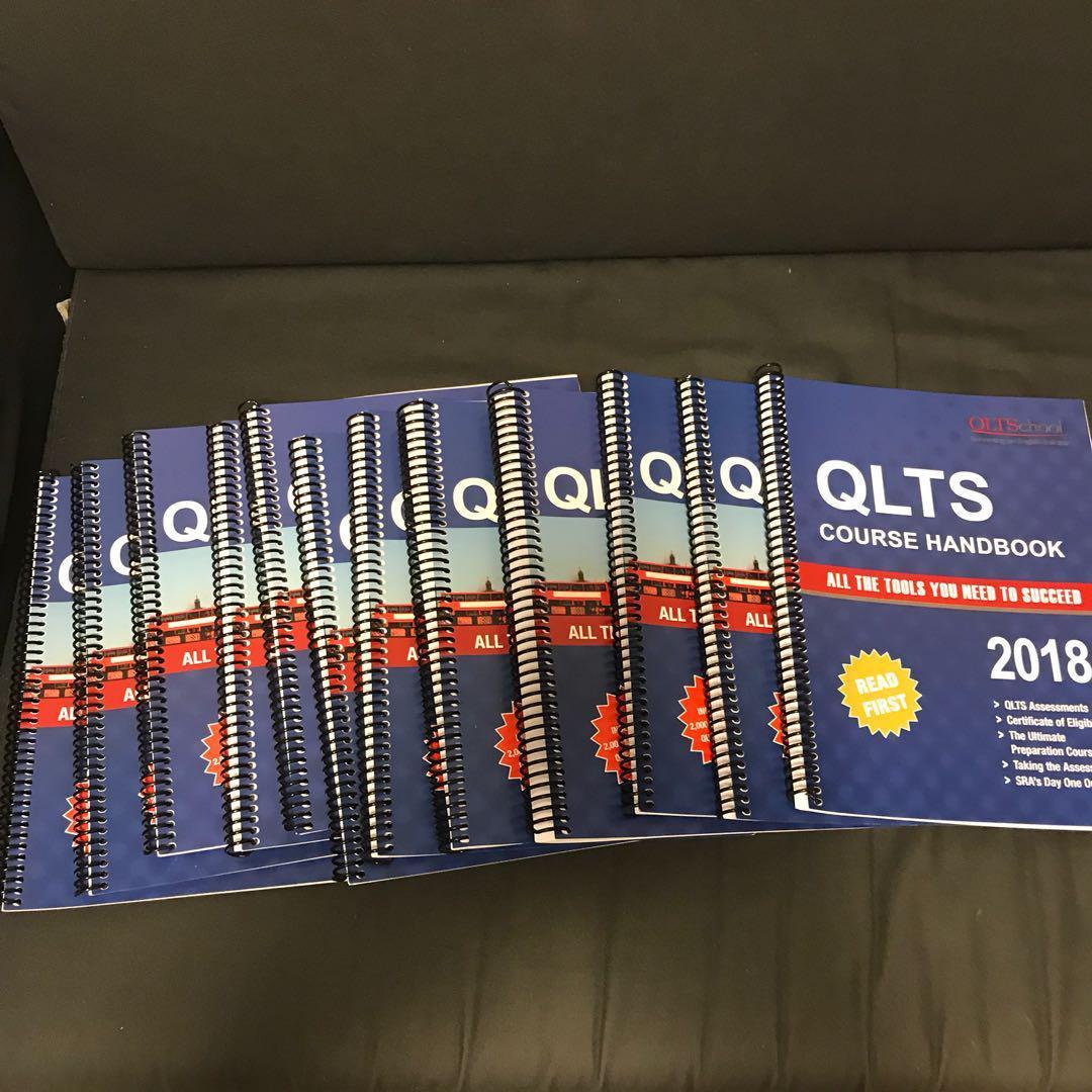 Brand New QLTS 2018 Textbooks MCT Assessment, Books