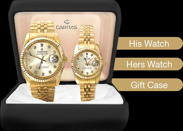 Caritas Diamond Watch (COUPLE) affac6717c