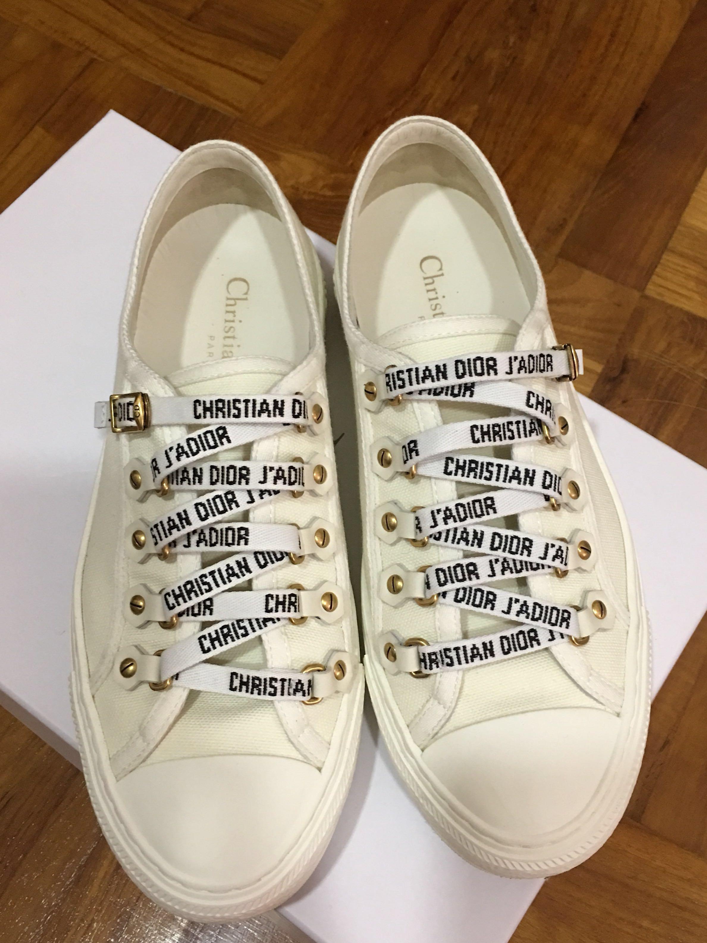 Christian Dior Walk'N'Dior Trainers