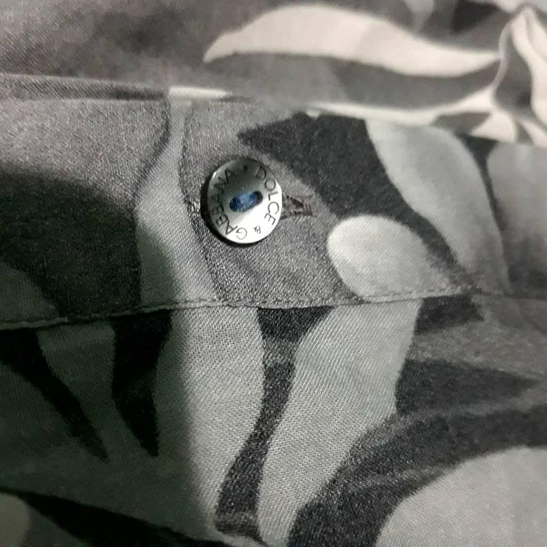 Dolce & Gabbana floral buttondown shirt