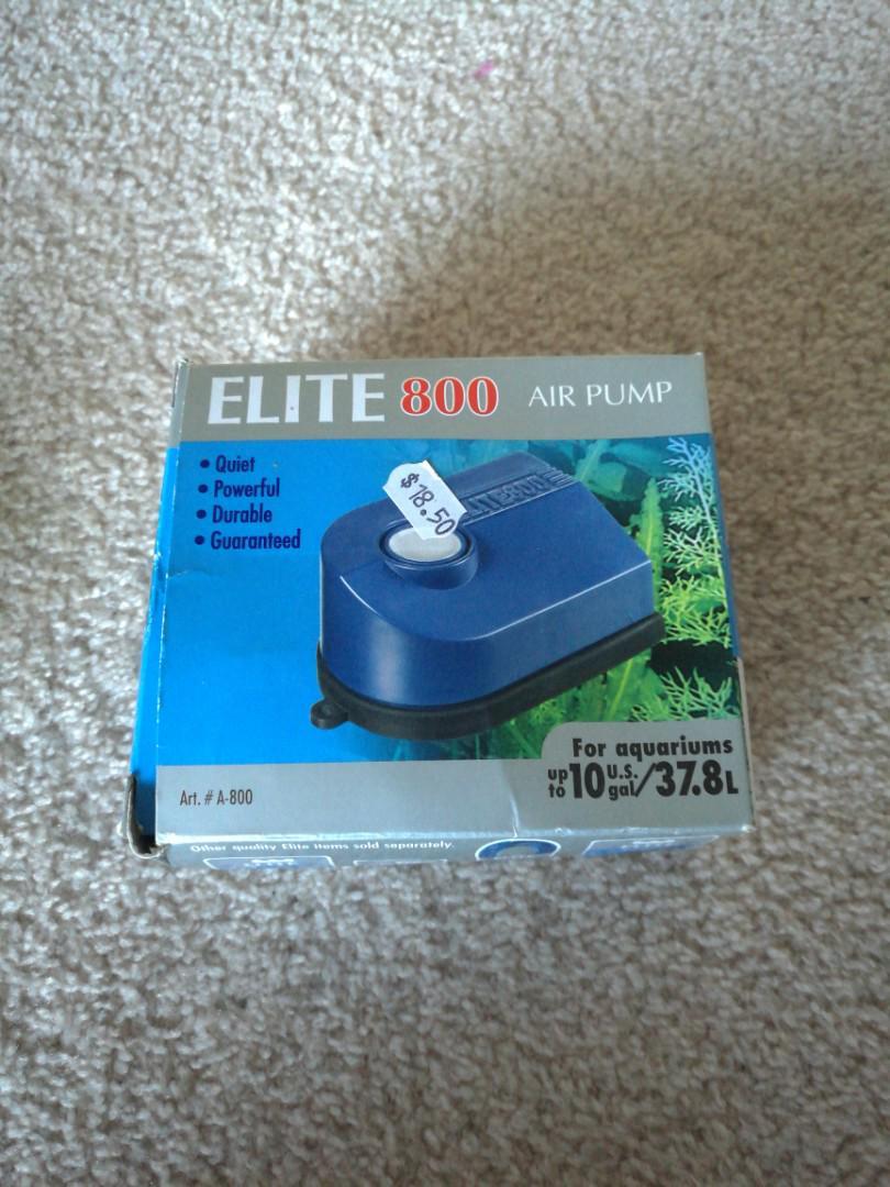 Elite 800 Air pump for aquariums