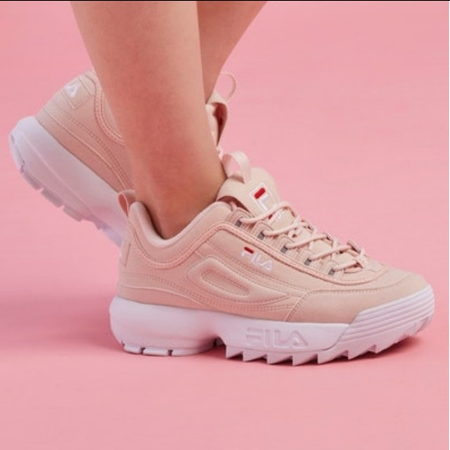 FILA Disruptor II in JD Pink