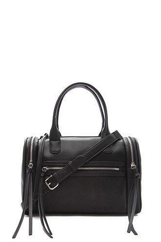 FOREVER 21  Faux Leather Bowler Bag a2a7020859e25