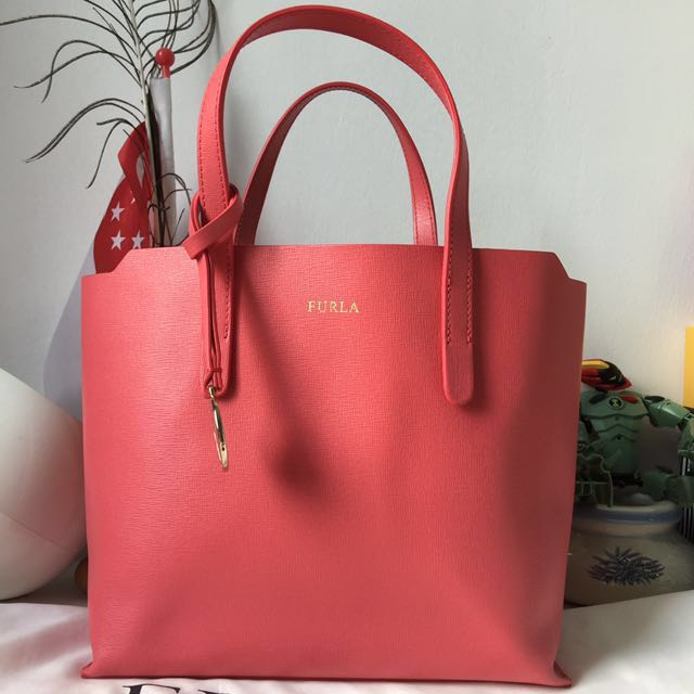 ff43db5bf1b Furla Sally Tote Bag Small Size, Women s Fashion, Bags   Wallets on ...