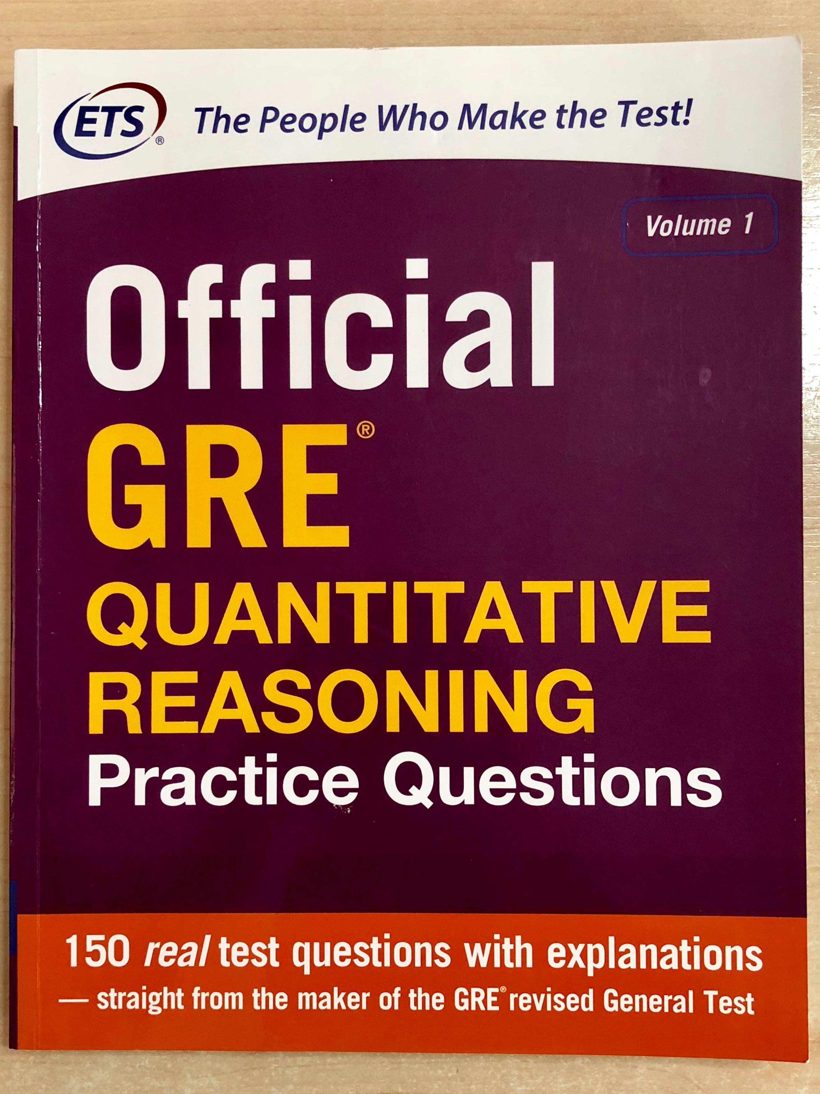 GRE Quantitative Reasoning Practice Questions