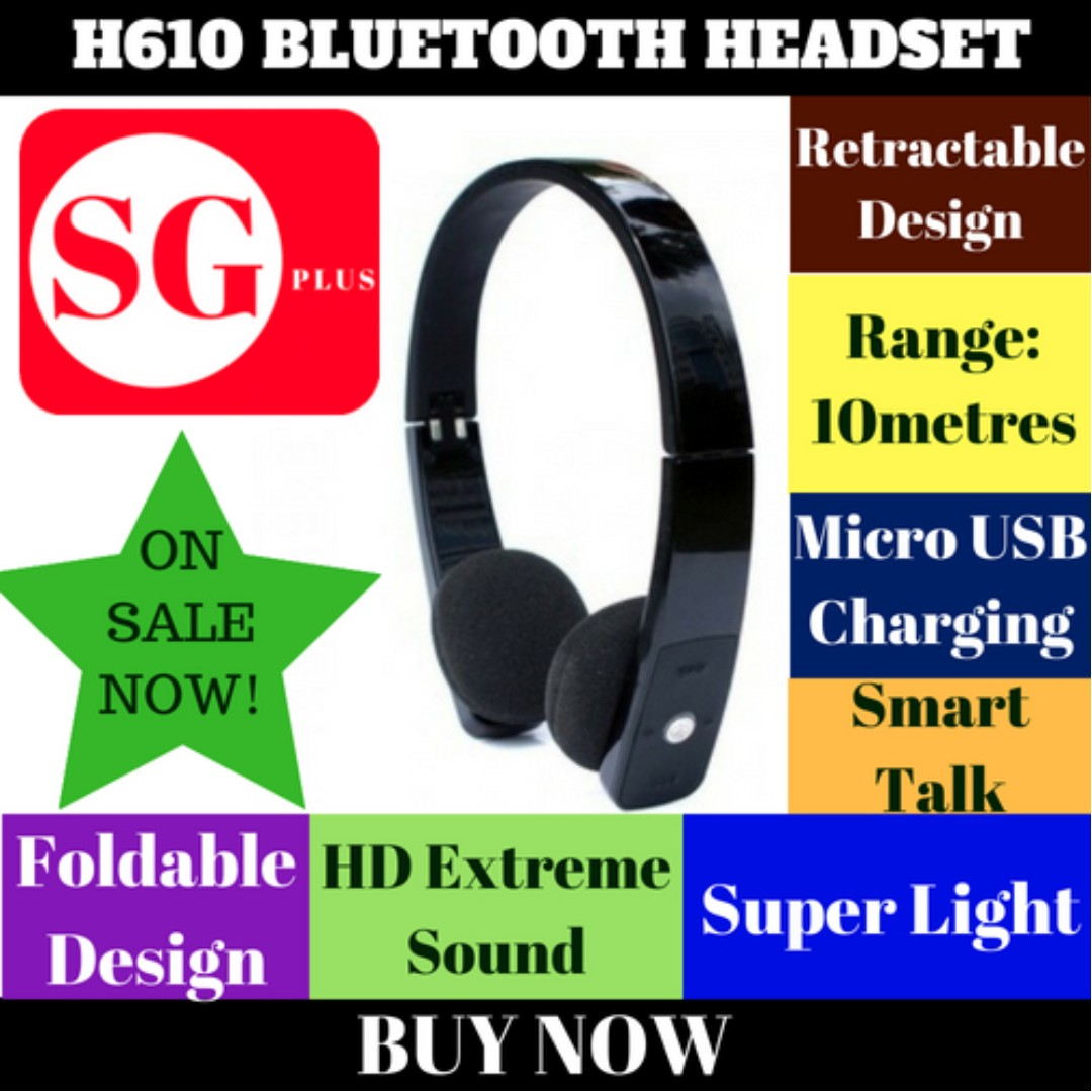 H610 Bluetooth Stereo Headset Special Price Electronics Audio On Carousell