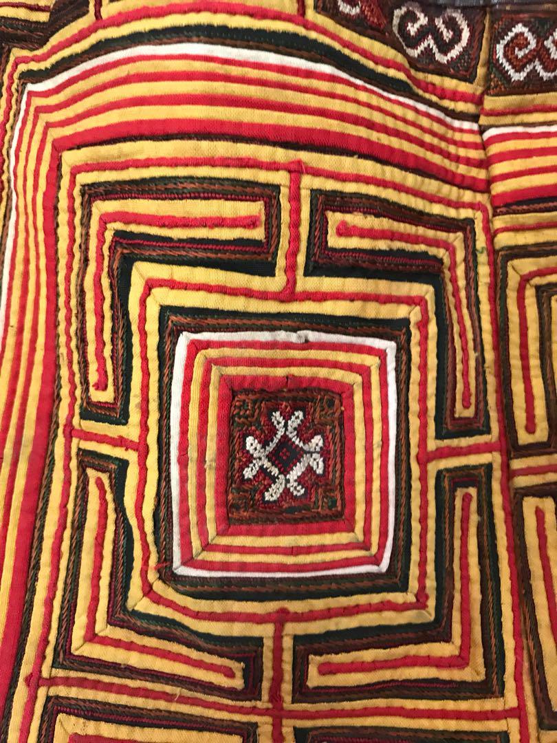 Handmade Leather carpet bag