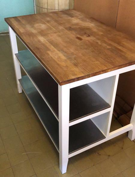 IKEA kitchen bench, Furniture, Shelves & Drawers on Carousell