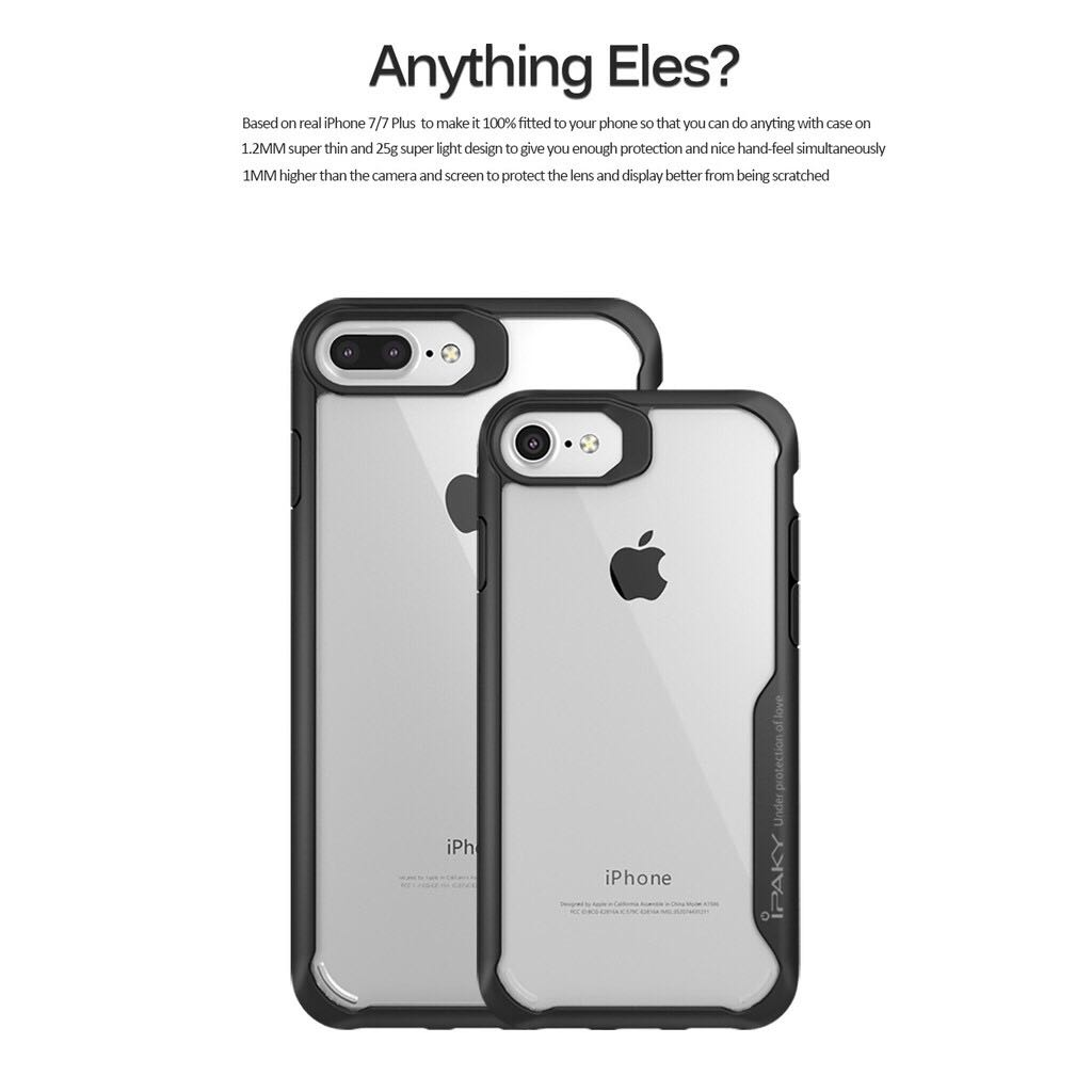more photos b48dd 68317 Ipaky case iphone 6/6s TPU Bumper Clear Case Casing Cover