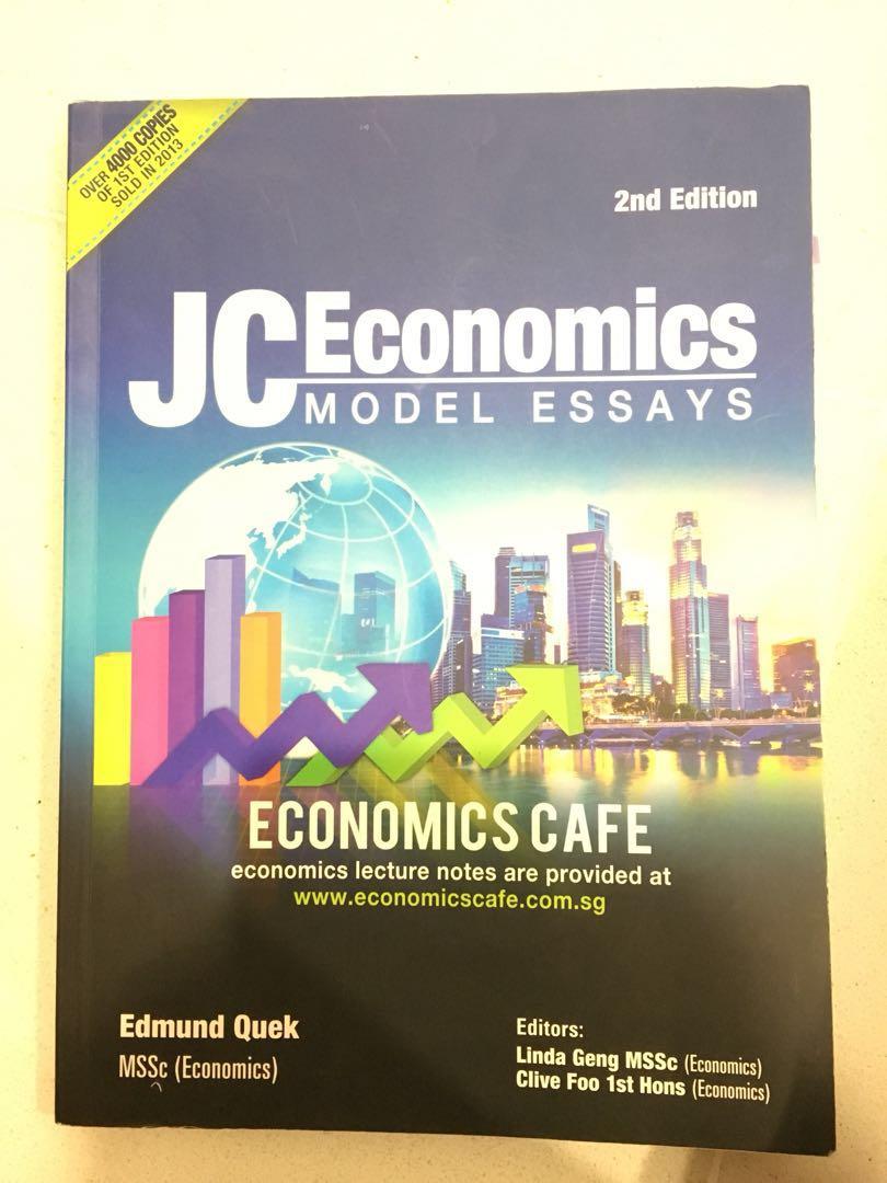 economics a level model answers