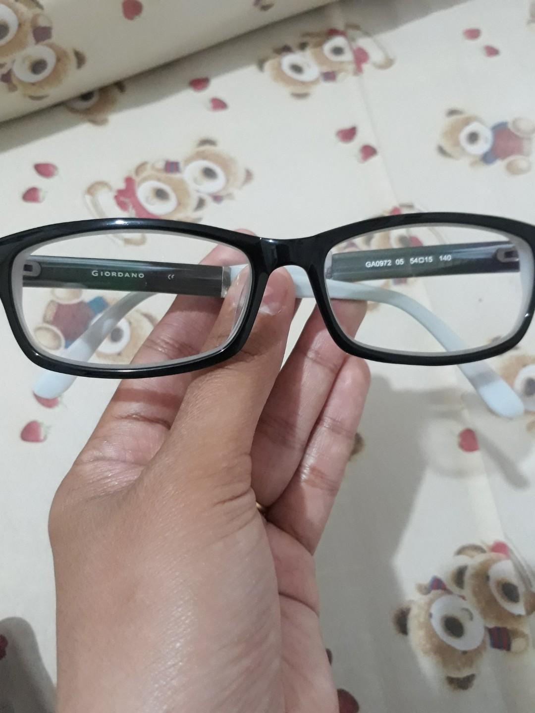 Kacamata Optik Melawai minus 0.5 Giordano 5926ba0034