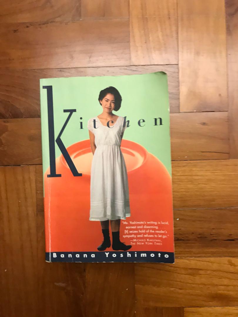 Kitchen By Banana Yoshimoto Books Stationery Fiction On