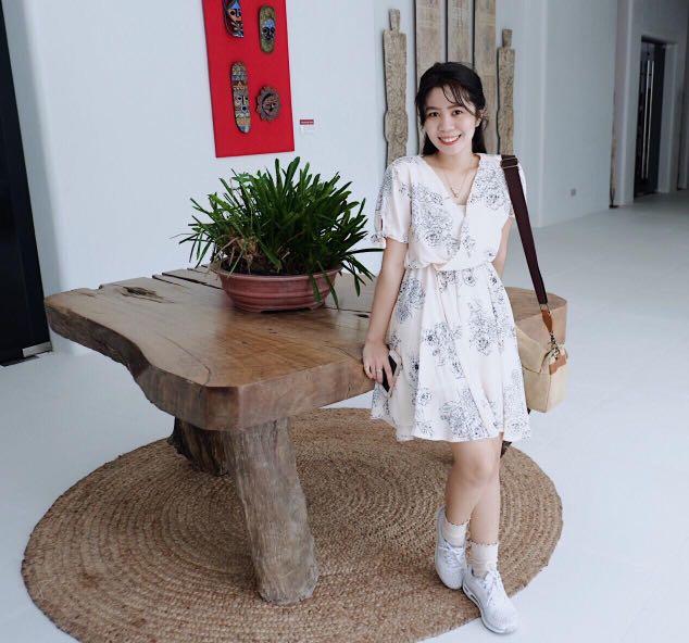 Image of: Tumblr Luulla Korean Cute Dress Womens Fashion Clothes On Carousell