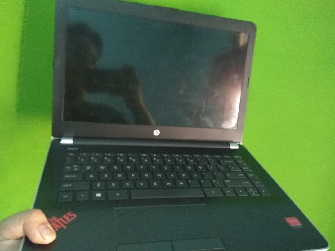 Laptop Hp 14-bw002ax Garansi Panjang