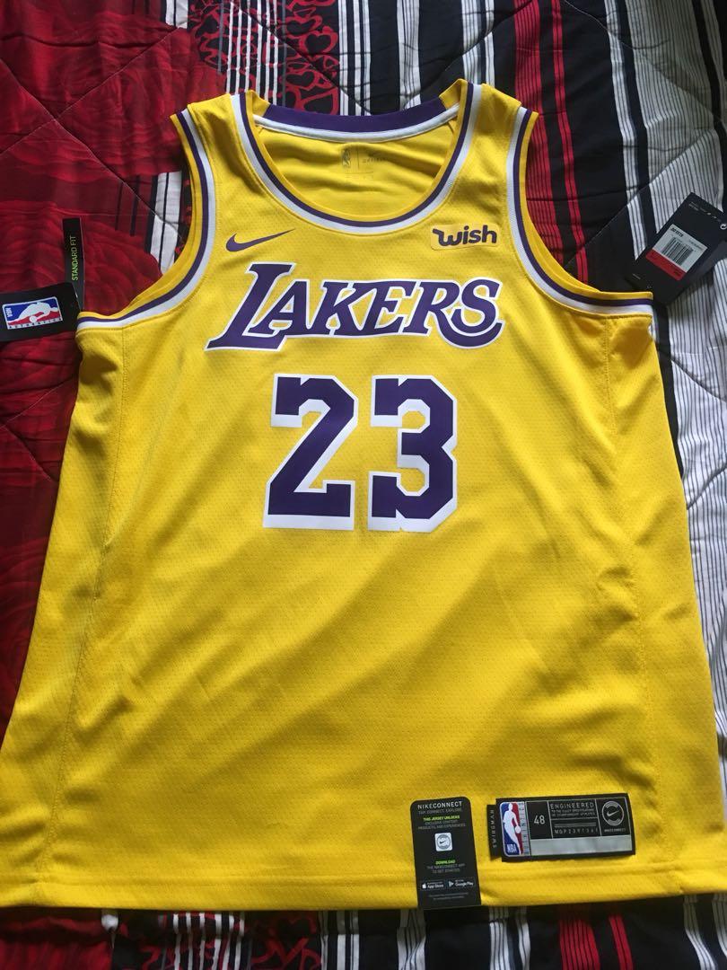f4f3a9a534c LeBron James LA WISH Icon Jersey brandnew with tag.