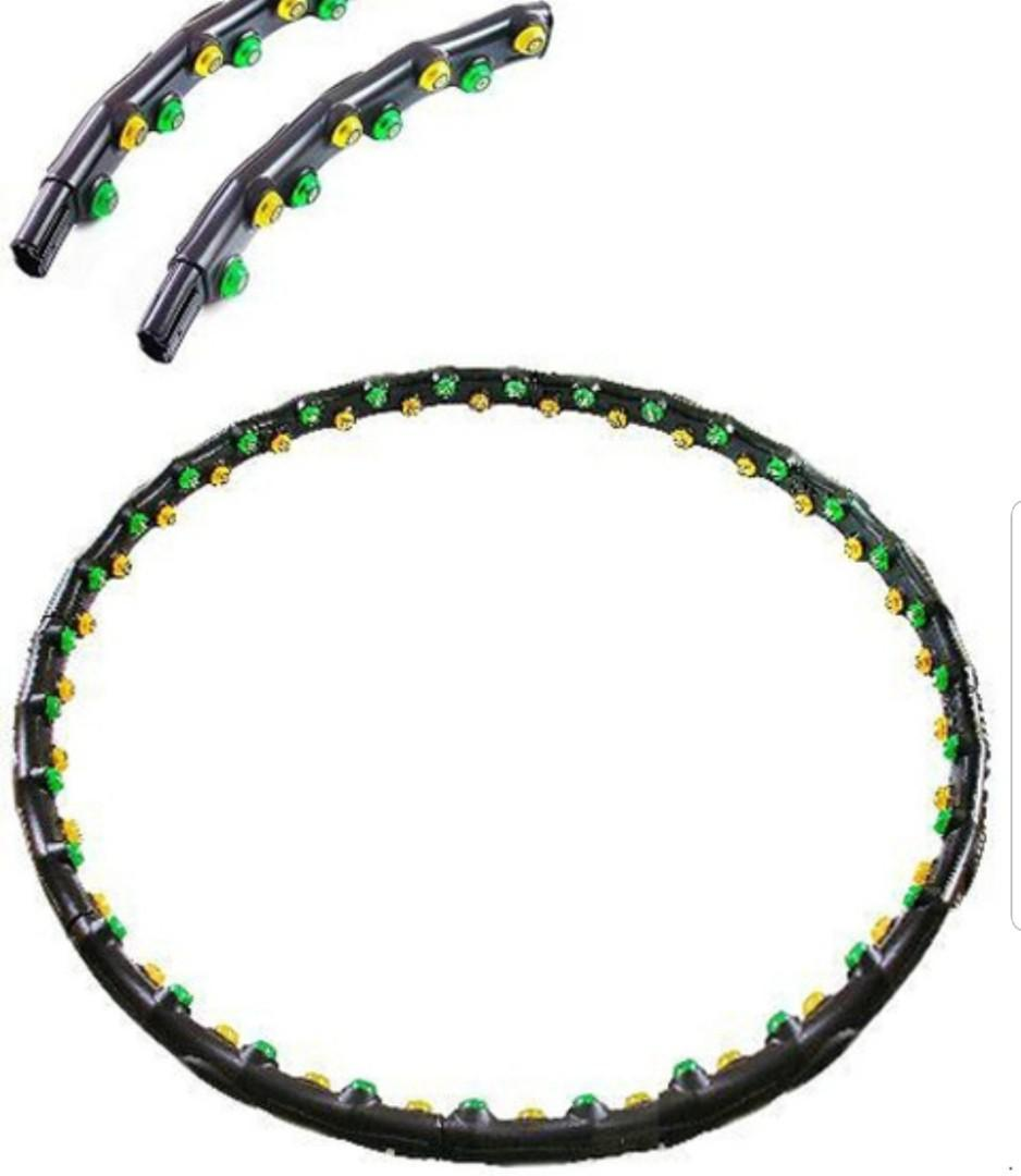 Magnetic hula hoop for weight loss, Sports, Sports & Games