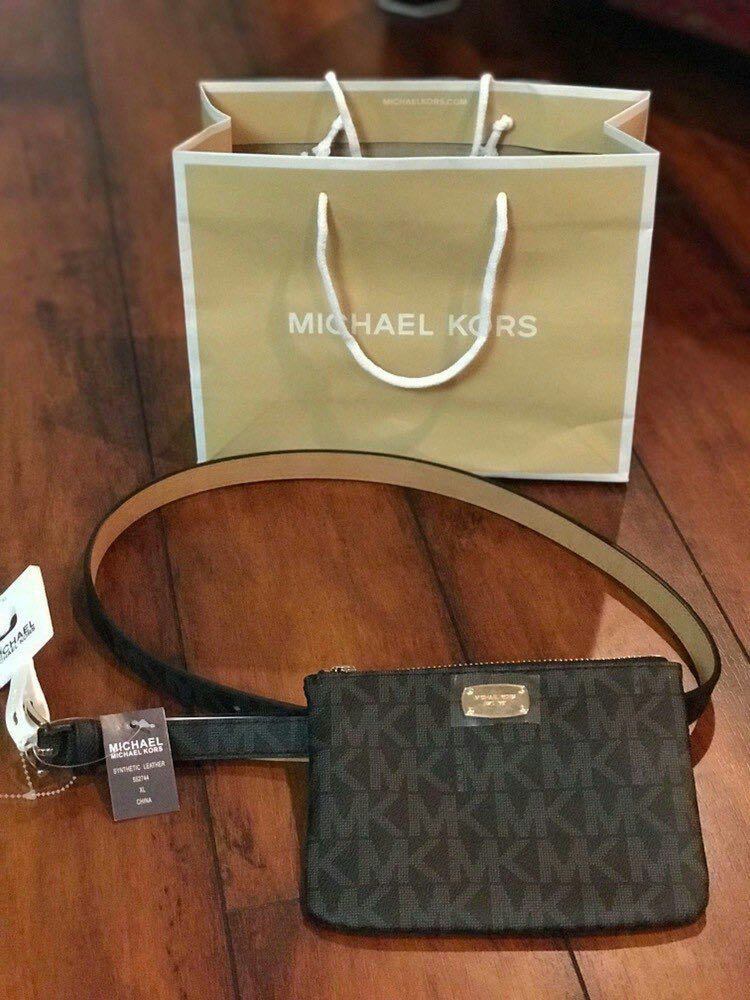 330ca6c3920d5 ... ebay michael kors mk signature belt wallet fanny pack luxury bags  wallets on carousell d0308 cceb7