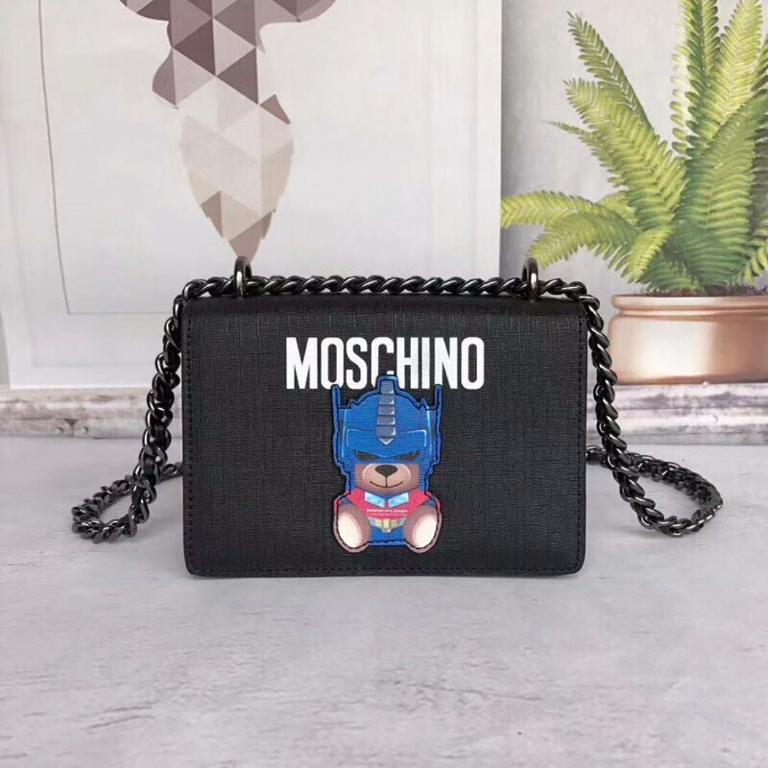 hot sales outlet sale latest Moschino sling bag crossbody, Women's Fashion, Bags ...