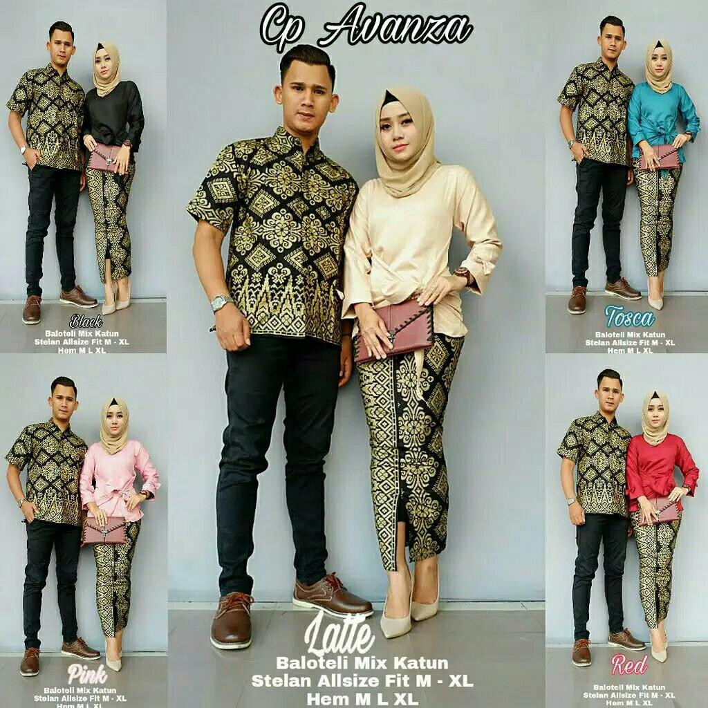 Muslim Couple Batik