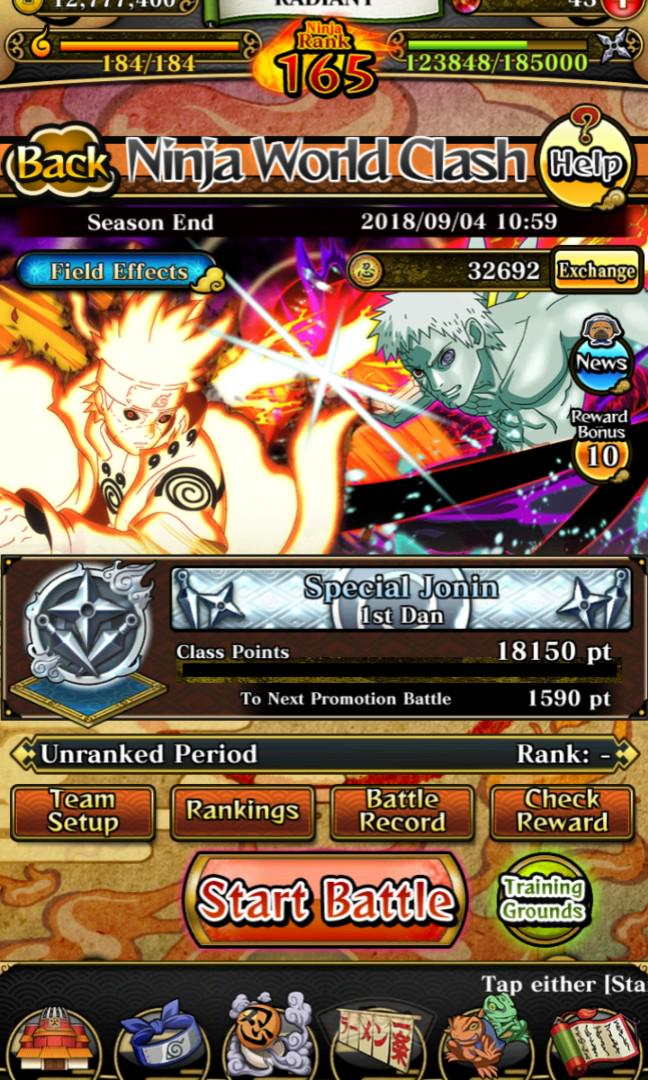 Naruto Blazing Acc, Toys & Games, Video Gaming, Video Games