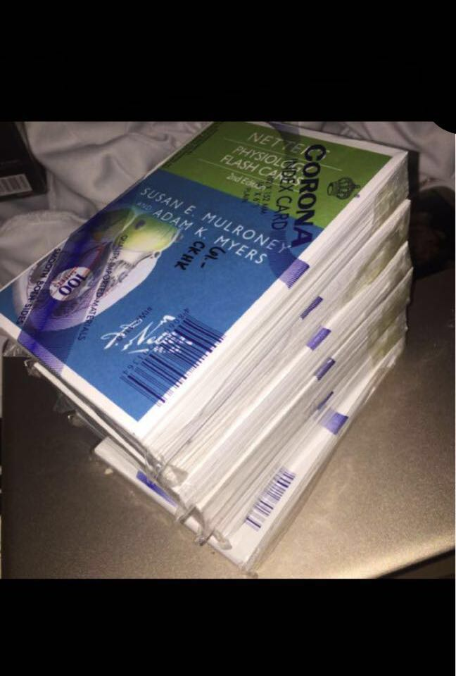 Netter S Physiology Flashcards Reprinted Textbooks On Carousell