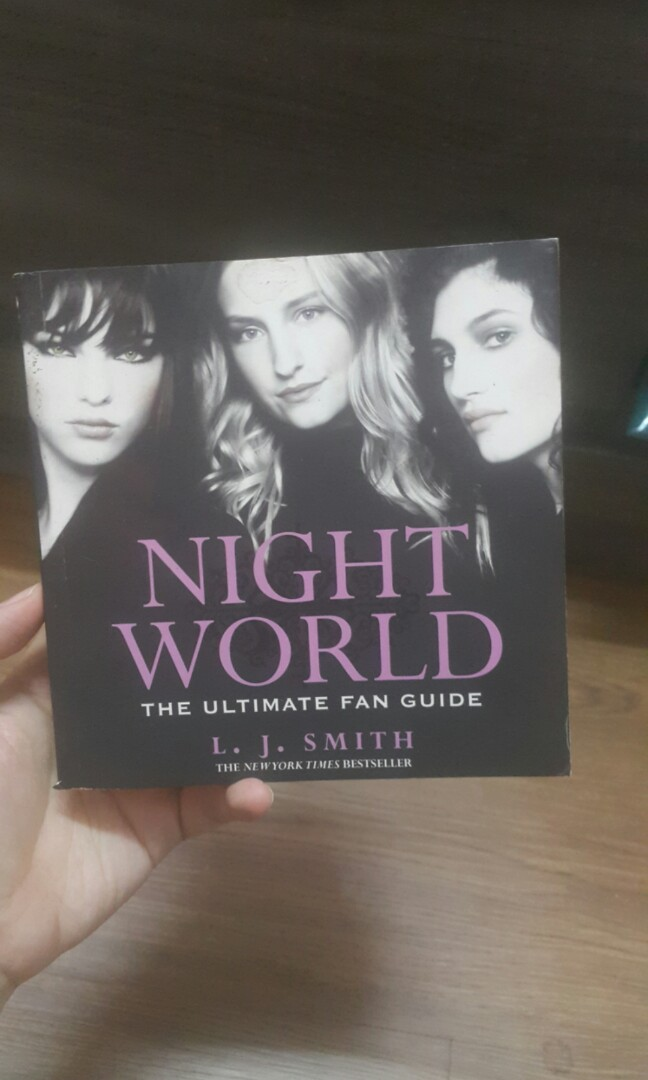 night world the ultimate fan guide books stationery books on rh my carousell com Rocky the Ultimate Guide Caliper Ultimate Guide