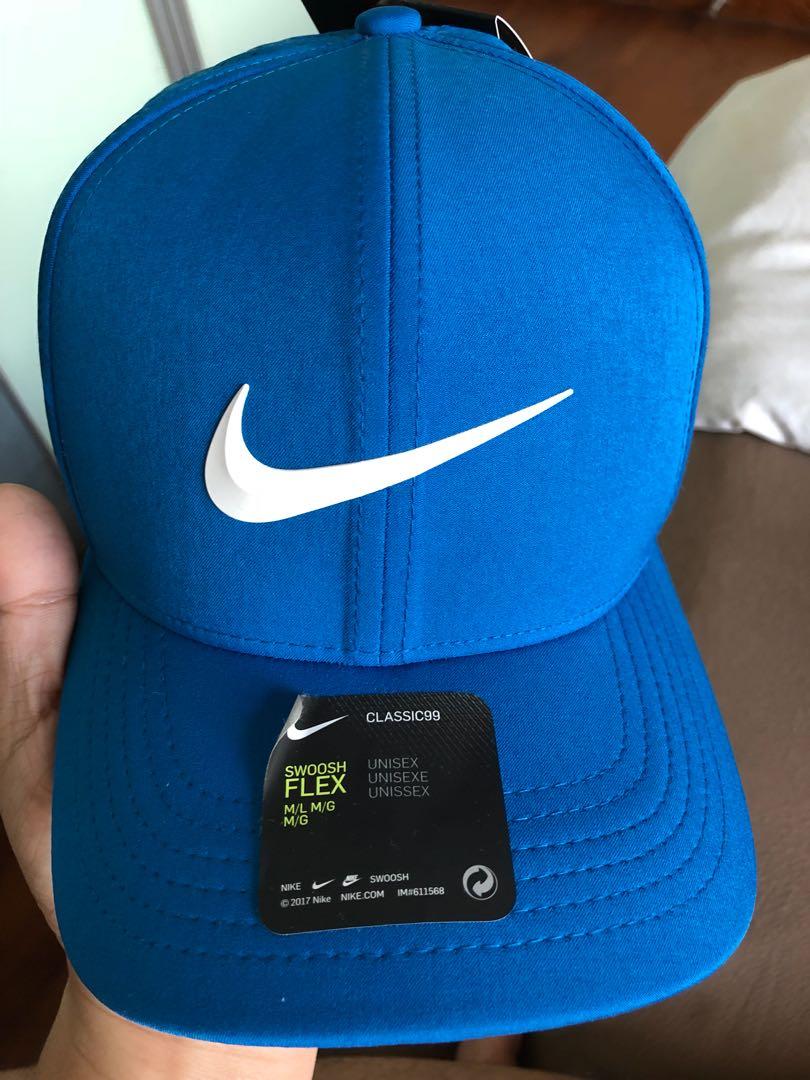 b3e22f03e Nike Golf Classic 99 Cap in Nebula Blue, Size M/L, Sports, Sports ...