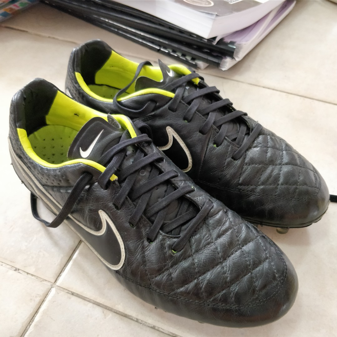 3a0a40e0375 WTT WTS Nike Tiempo Legend V FG Football Shoes Cleats Kasut Futbol ...