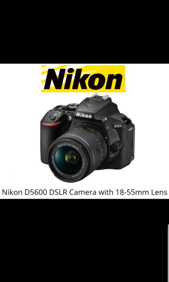 Nikon D5600 AF-P18-55mm Kit