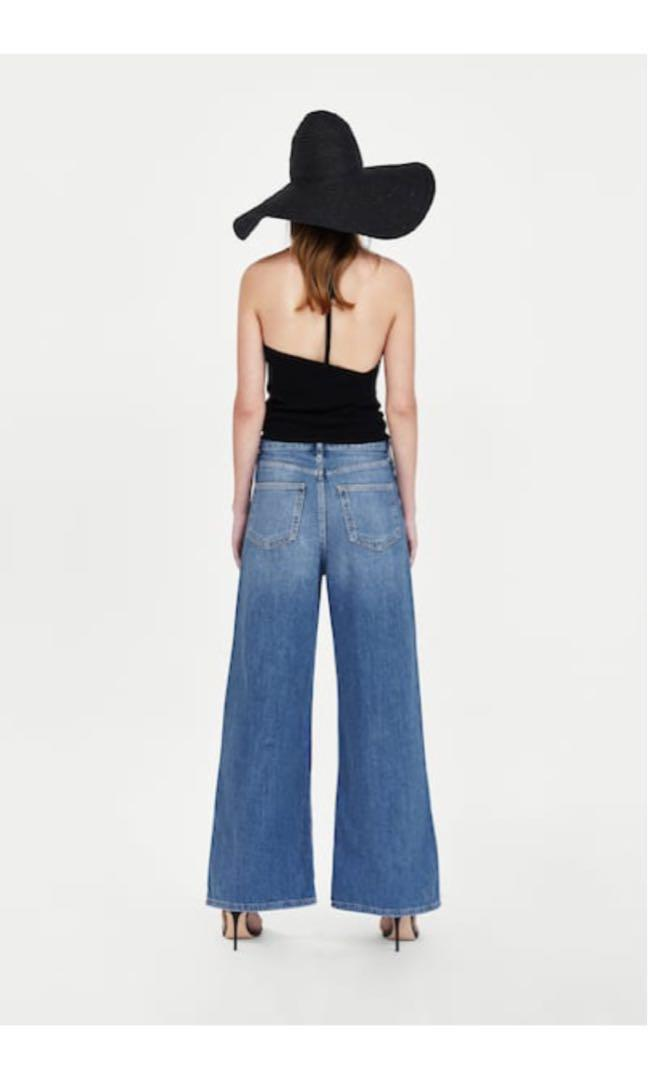 🚨PRICE DROP🚨 BNWT Zara High-Waist Flare Jeans