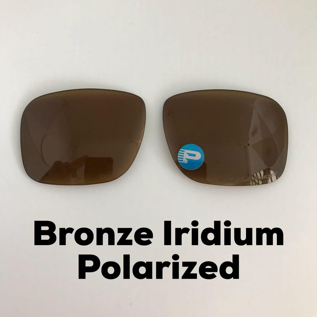 462bebc552 Oakley Holbrook Bronze Iridium Polarized Replacement Lens ...