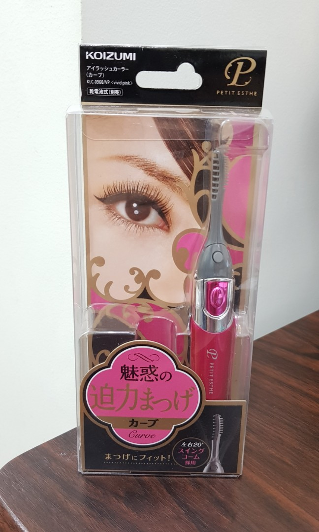 Petit Esthe Eyelash Perming Kit Bought In Japan Health Beauty
