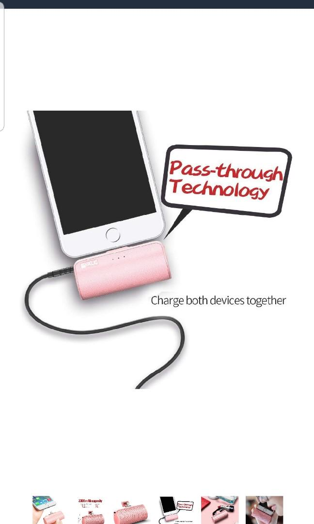 Portable  charger iphone