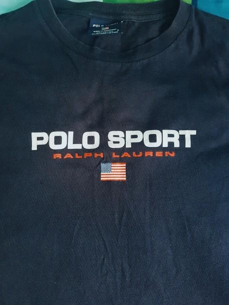 Ralph lauren Polo sport vintage tee, Men's Fashion, Clothes