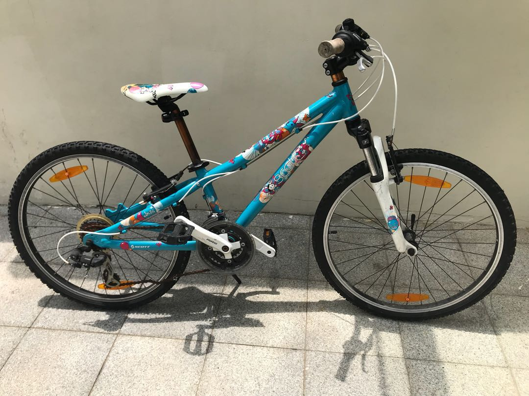 """c6936e9d807 Scott Contessa JR 24"""" junior bicycle , Bicycles & PMDs, Bicycles, Mountain  Bikes on Carousell"""